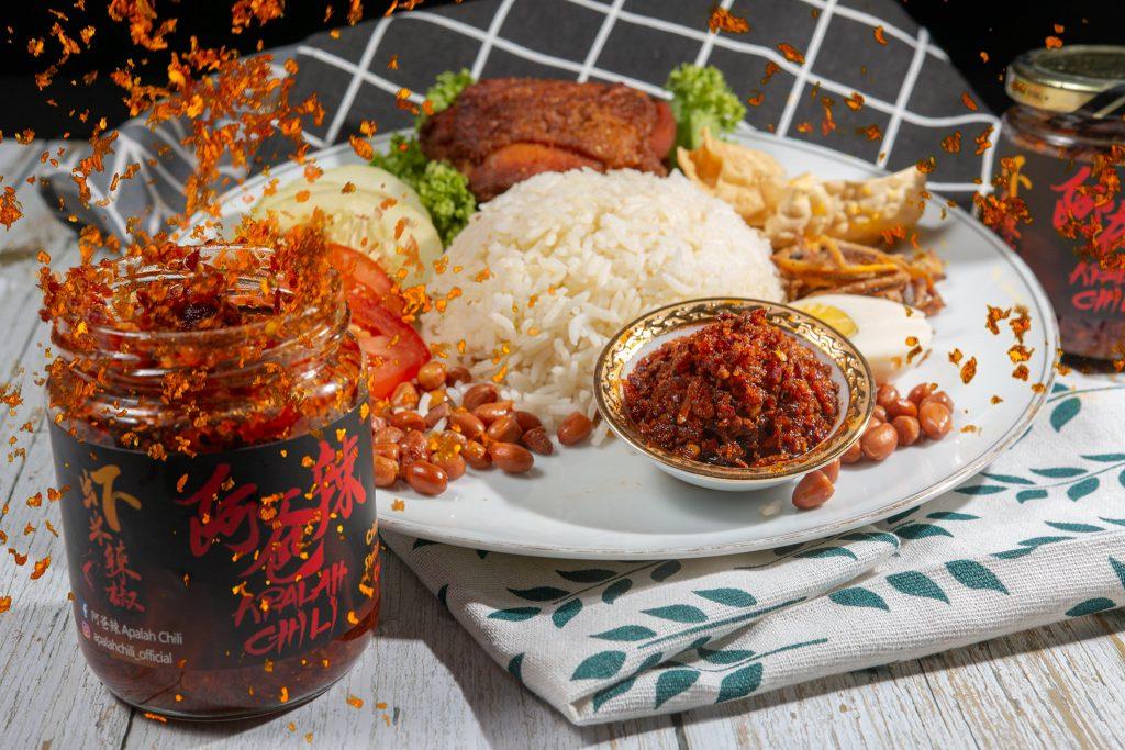 Apalah Chili with Nasi Lemak 1